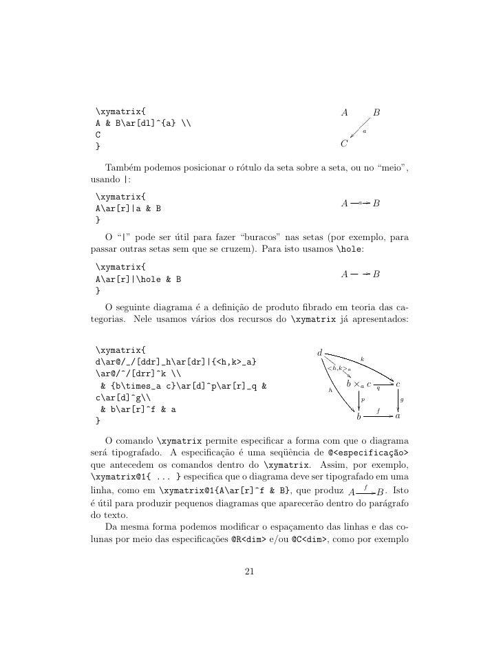 xymatrix{                                                 A                  B  A  Bar[dl]^{a}                            ...