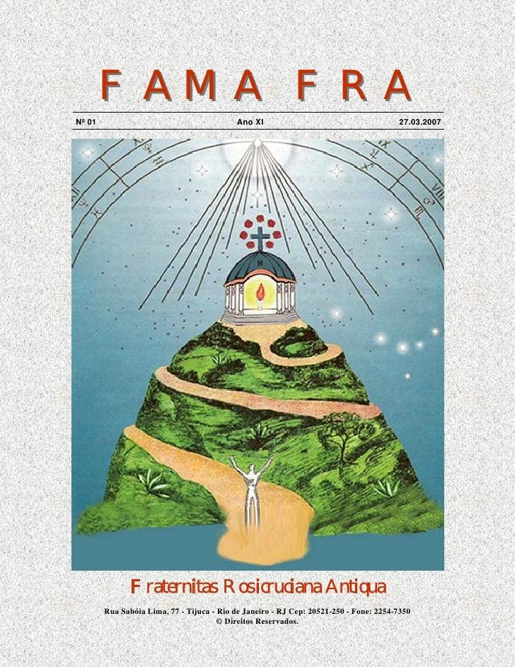 FAMA FRA Nº 01                                      Ano XI                                      27.03.2007                ...