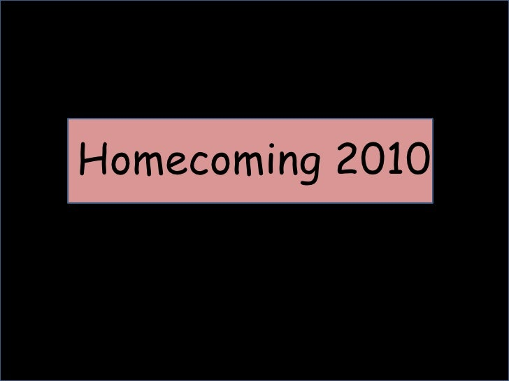 Homecoming 2010<br />