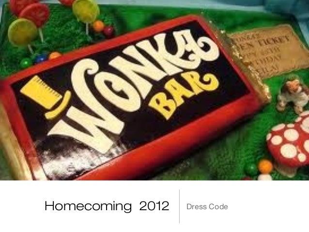 Homecoming 2012   Dress Code