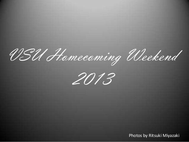 VSU Homecoming Weekend 2013 Photos by Ritsuki Miyazaki