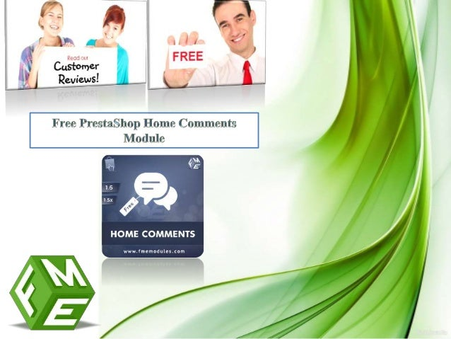 Download here: PrestaShop reviews module For more info feel free to contact us at: info@fmemodules.com or visit http://www...