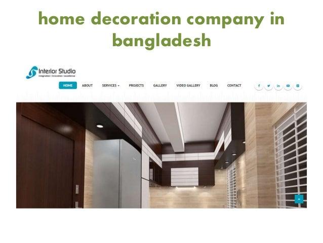 Home decoration company in bangladesh for Aita studio home decoration