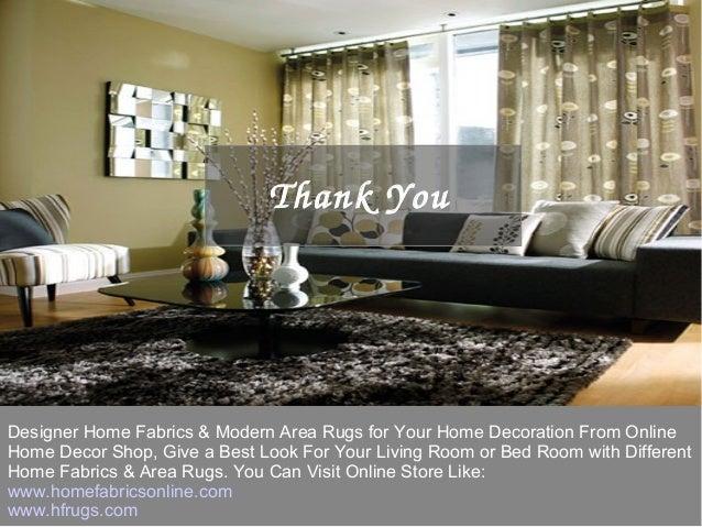 Modern home decor online store