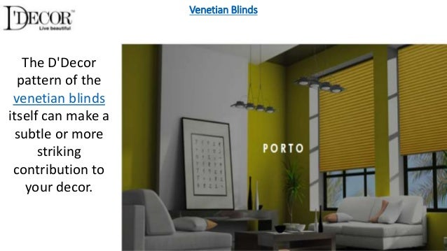 Home Decor Items As Roller Blinds Venetian