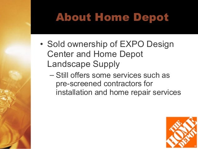 Home Depot Analysis