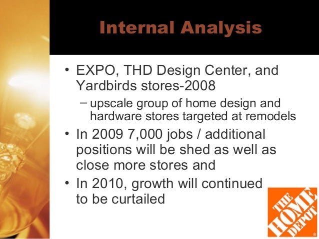 home depot internal external analysis 1 answer to omplete the external environmental scan for your organization perform an internal competitive environmental scan for your organization write a - 493386.