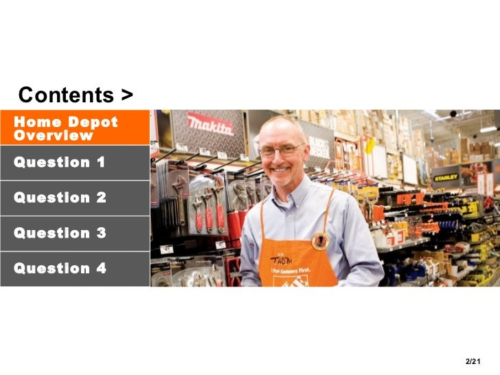 HomeDepot Case Study | The Home Depot - Scribd