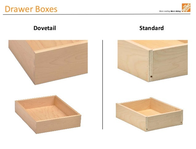 Drawer Boxes Dovetail Standard