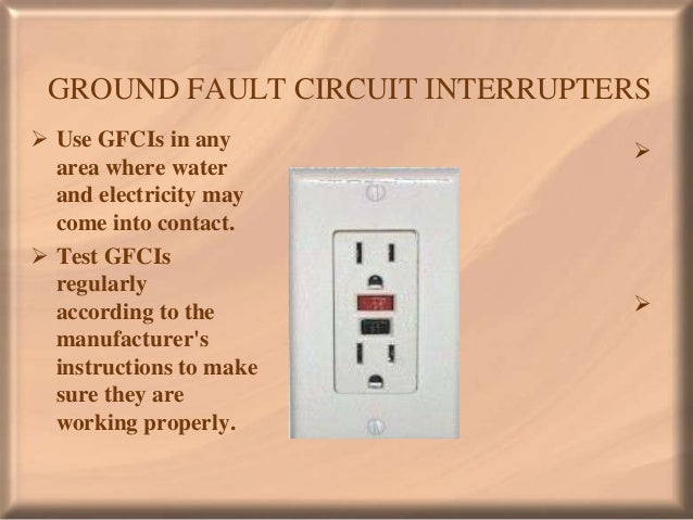 Home electrical safety