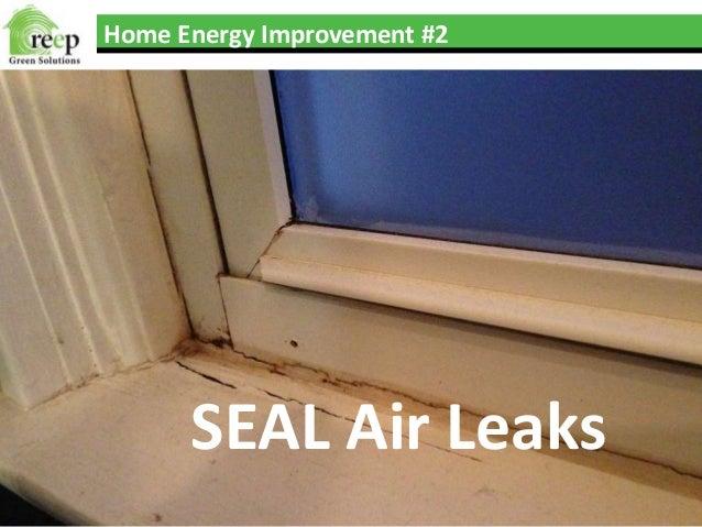 Top 5 Home Energy Improvements