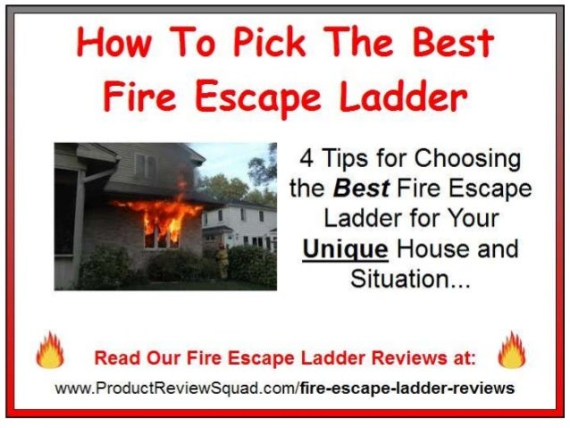 Buying The Best Home Fire Escape Ladder Expert Tips Amp Advice