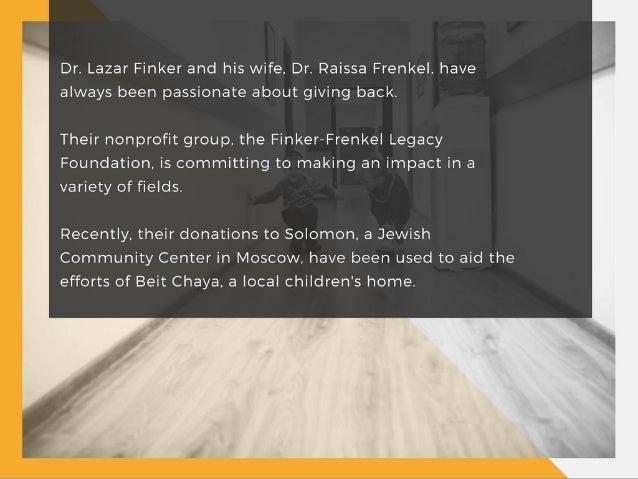 Home for the Holidays—Finker-Frenkel Legacy Foundation Gives Back to Children's Home