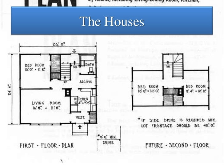 Home from the War Stories from StCatharines Wartime Neighbourhoods – Wartime House Floor Plans