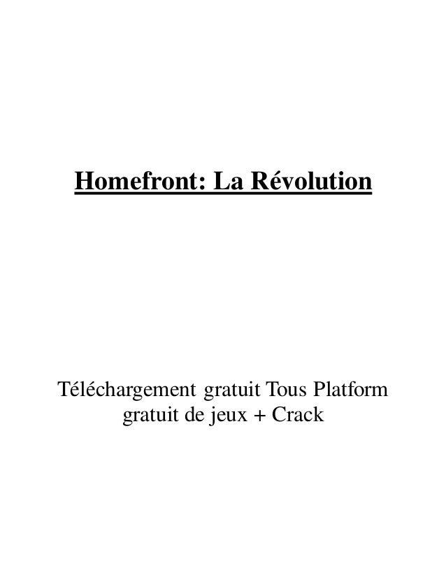 Homefront: La Révolution Téléchargement gratuit Tous Platform gratuit de jeux + Crack