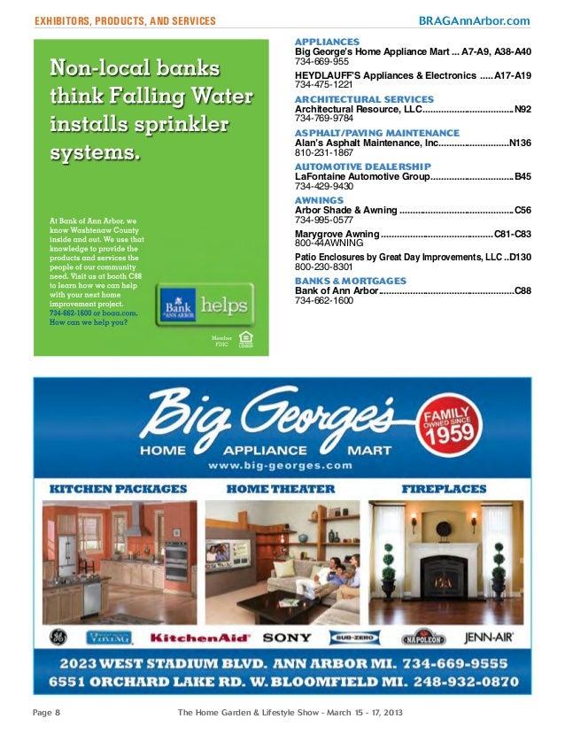 home garden lifestyle show 2013 event program. Black Bedroom Furniture Sets. Home Design Ideas