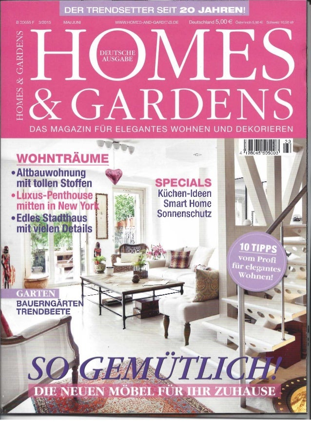 Home & gardens May 2015 - PAR / DIN