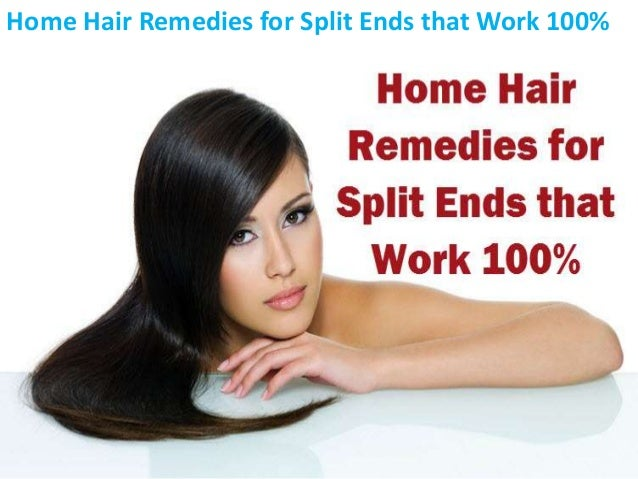 Home Hair Remedies for Split Ends that Work 100%