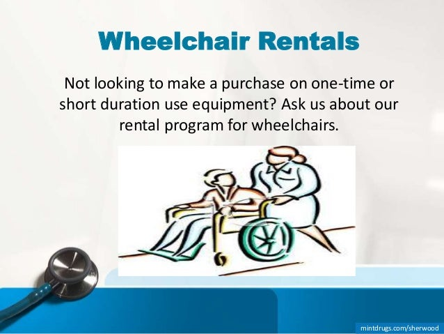 Mintdrugs Sherwood 9 Wheelchair Rentals