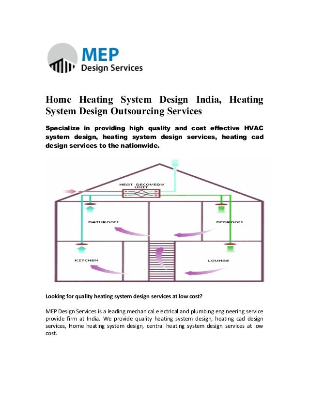 Home heating system design india, heating system design outsourcing s…