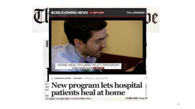 Home Hospital: hospital level care at home for acutely ill