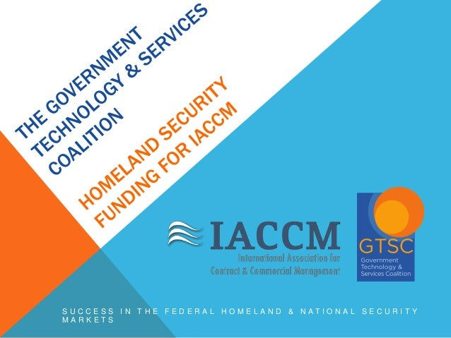 SUCCESS IN THE FEDERAL HOMELAND & NATIONAL SECURITY MARKETS