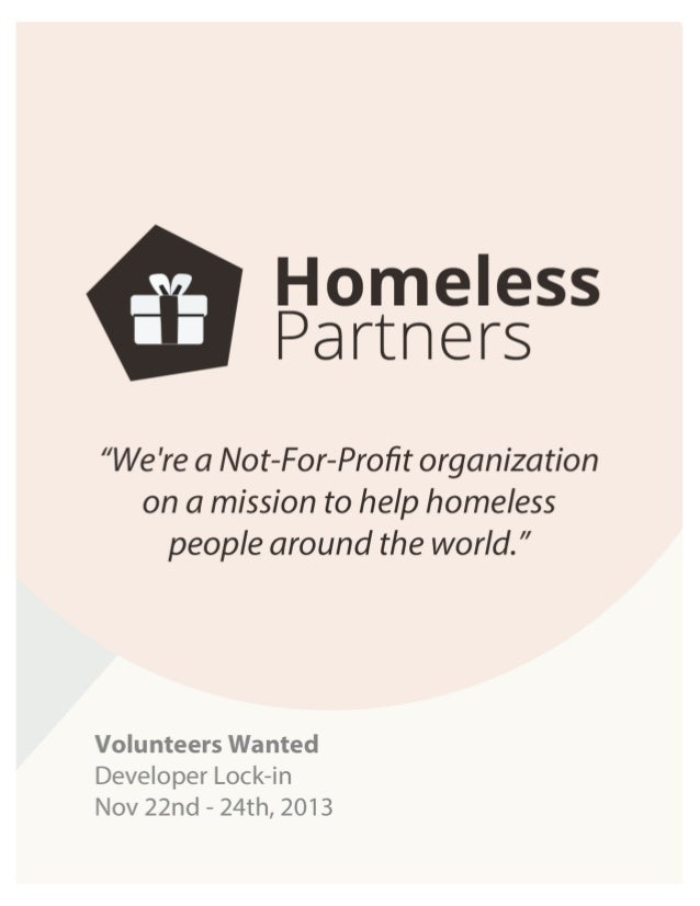 Homeless Partners Volunteer Deck