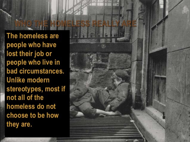 the issue of homelessness Homelessness isn't just what we see on the street—it takes many forms and  affects  raise awareness of the issue and support homeless people to get back  on.