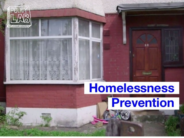 Homelessness Prevention 1