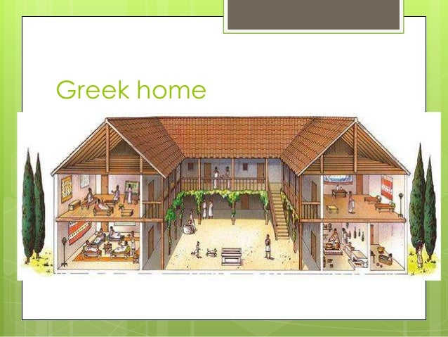 What Was an Pictures of ancient greece homes