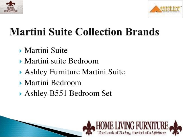 Ashley Furniture Martini Suite