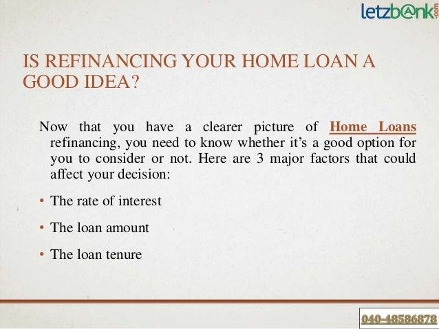 Know Home Loan Balance Transfer Or Refinancing