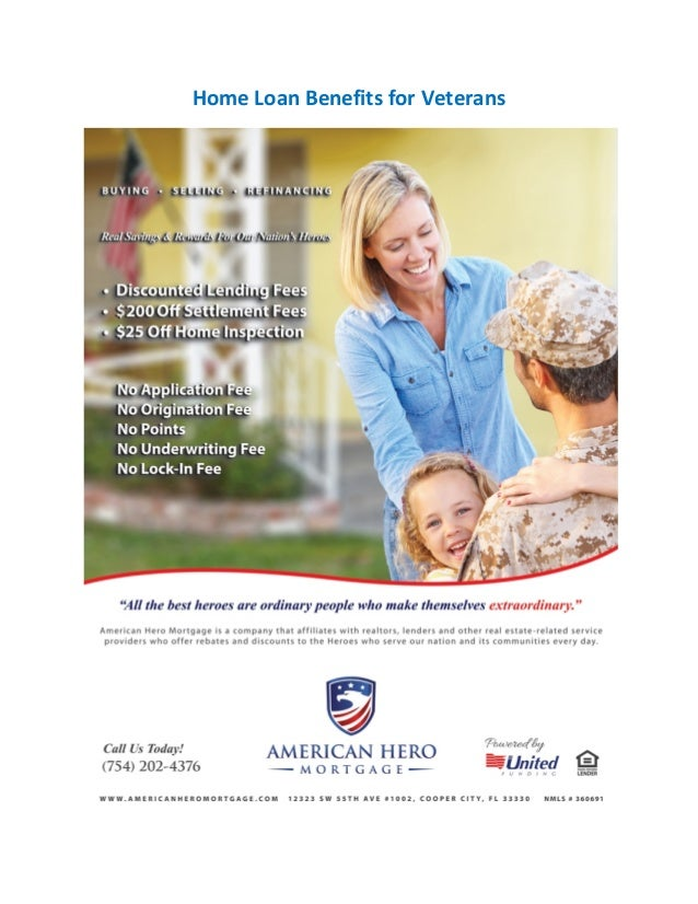 What companies offer loans to U.S. military veterans?