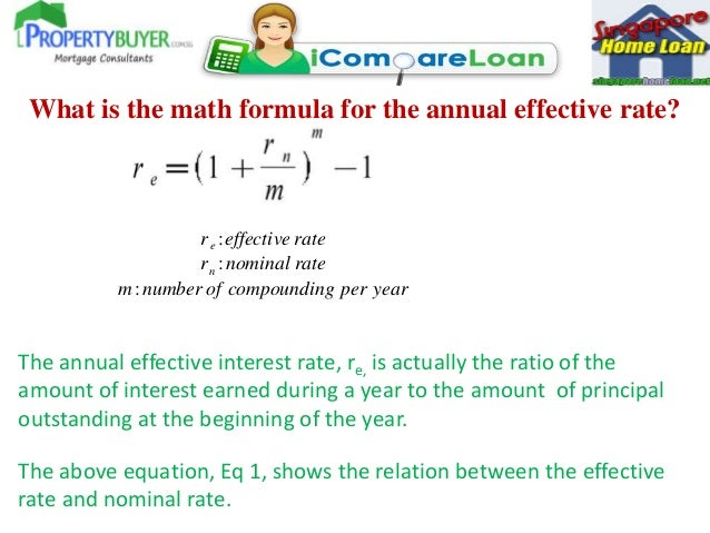 Formula Of Effective Annual Interest Rate Executive Mba Online Free