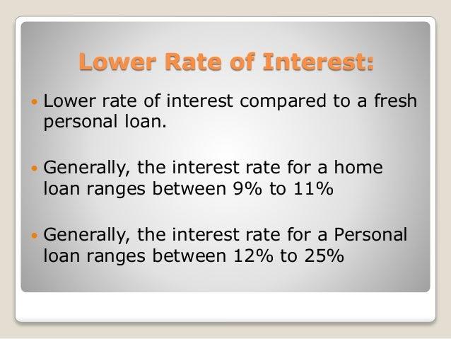 Home Loan Top Up vs Personal Loan - 웹