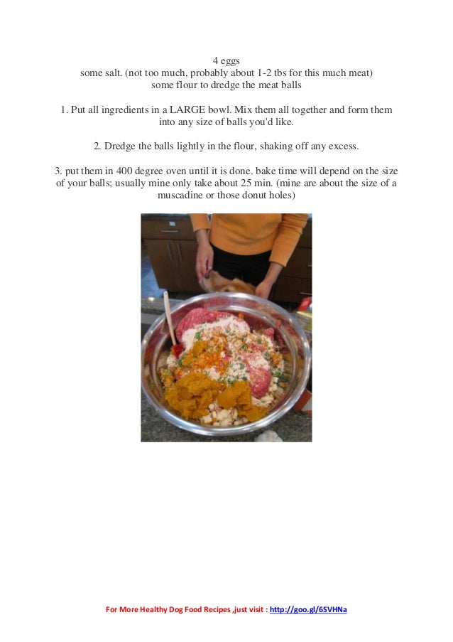 Home made dog food recipe 2 for more healthy dog food recipes forumfinder Gallery