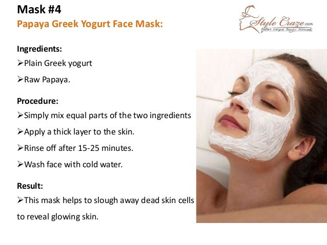 Homemade Face Packs For Anti Aging