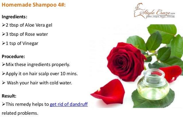 How to make natural homemade aloe vera shampoo