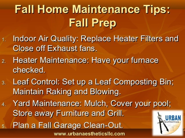 Fall Home Maintenance Tips fall home maintenance tips - home design