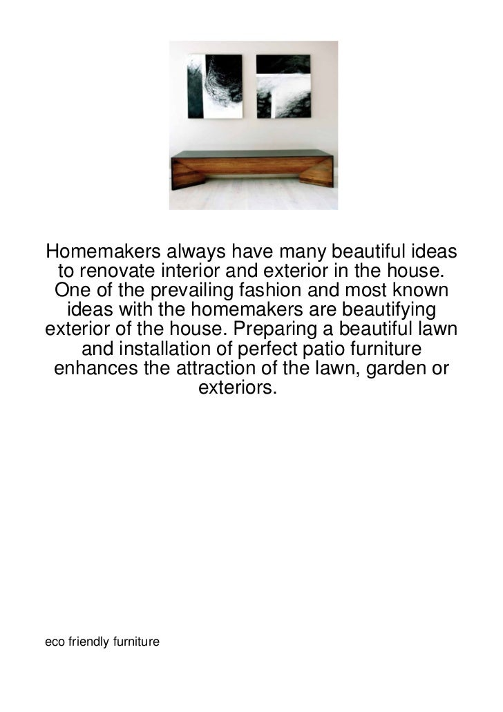 Homemakers always have many beautiful ideas to renovate interior and exterior in the house. One of the prevailing fashion ...