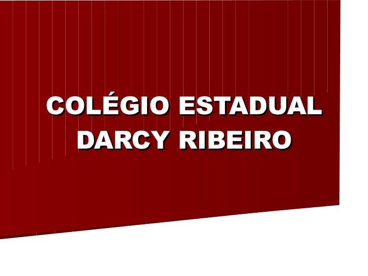 COLÉGIO ESTADUAL DARCY RIBEIRO