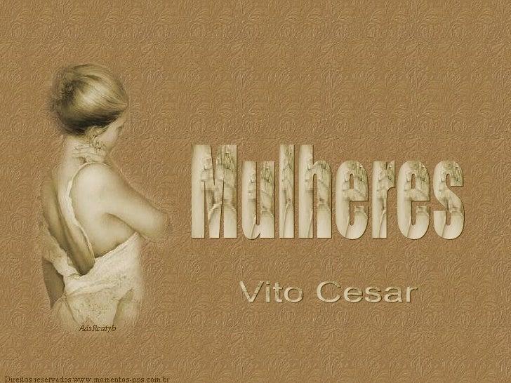 Mulheres Vito Cesar