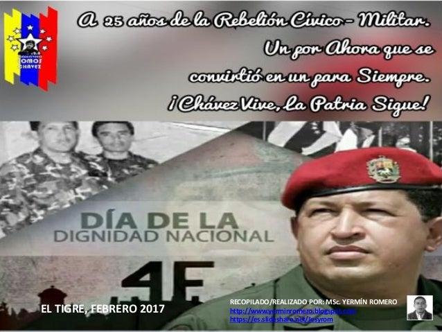 RECOPILADO/REALIZADO POR: MSc. YERMÍN ROMERO http://www.yerminromero.blogspot.com https://es.slideshare.net/Jesyrom EL TIG...