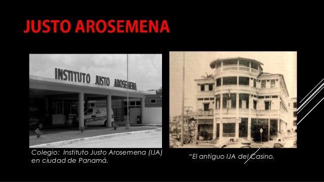 """COMPILACIÓN E EDICIÓN_ JULIANA VILLAMONTE E ALSOLA 75 Colegio: Instituto Justo Arosemena (IJA) en ciudad de Panamá. """"El an..."""