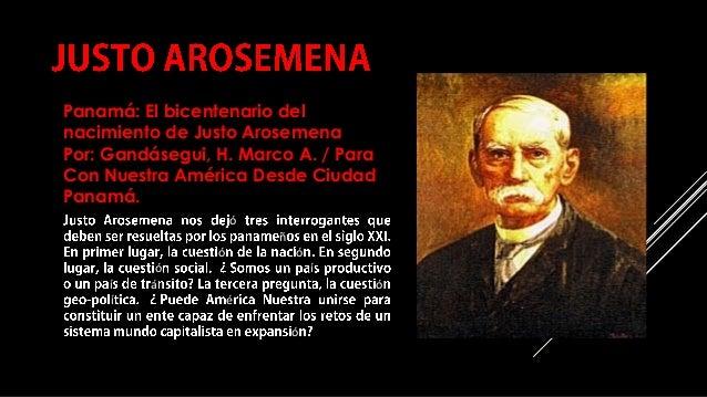 COMPILACIÓN E EDICIÓN_ JULIANA VILLAMONTE E ALSOLA 83 ó ñ ó ó ó í í á ó í é ó Panamá: El bicentenario del nacimiento de Ju...