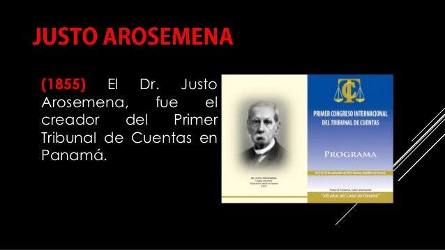 COMPILACIÓN E EDICIÓN_ JULIANA VILLAMONTE E ALSOLA 92 (1855) El Dr. Justo Arosemena, fue el creador del Primer Tribunal de...