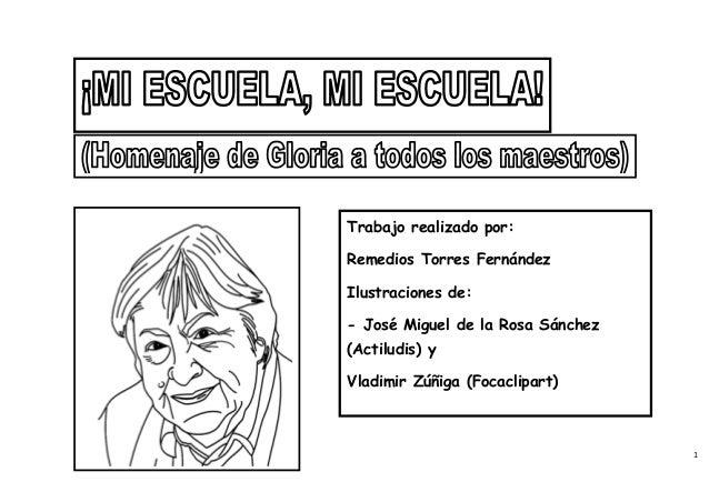 Trabajo realizado por:Remedios Torres FernándezIlustraciones de:- José Miguel de la Rosa Sánchez(Actiludis) yVladimir Zúñi...