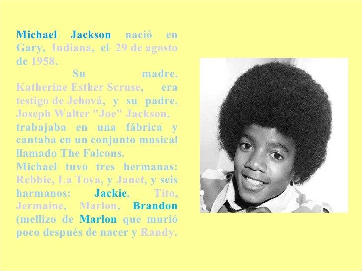 La vida de michael jackson for En que ano murio michael jackson