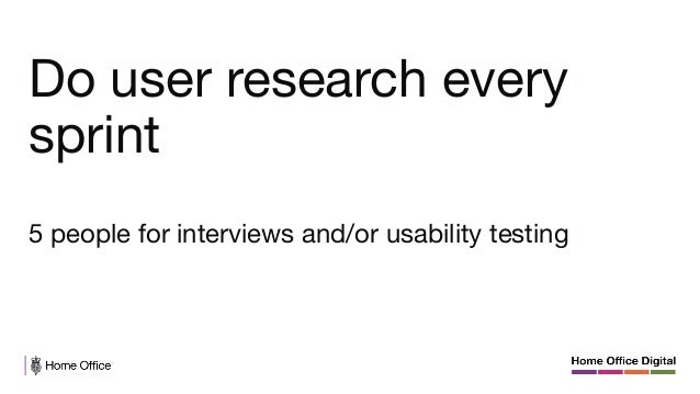 Better not to do user research than research that has no impact.   Don't show that it's optional, not that useful or that ...