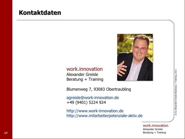 Kontaktdaten                    work.innovation                                                                           ...